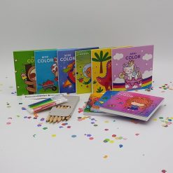 Mini kleurboekje